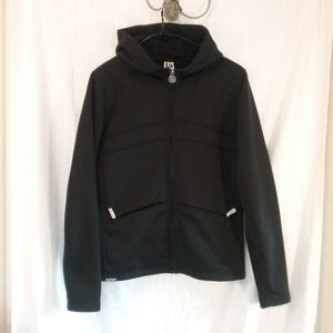 Burton Hoodie Insulated Fleece Jacket, Size Med.